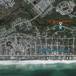 Seagrove map | lot M12 Canal Street