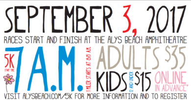 Alys Beach 5K & 1 Mile Fun Run